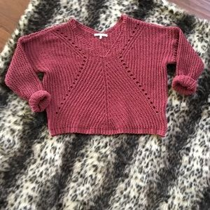 3 for $15/ANGEL KISS Mauve Knit Sweater